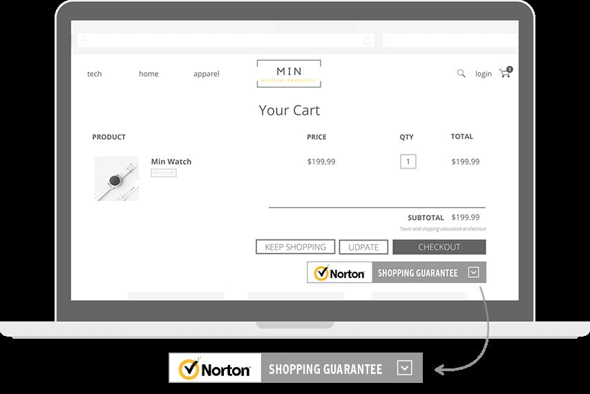 trustmark Norton Shopping Guarantee